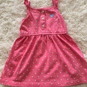 Carter's pink summer dress